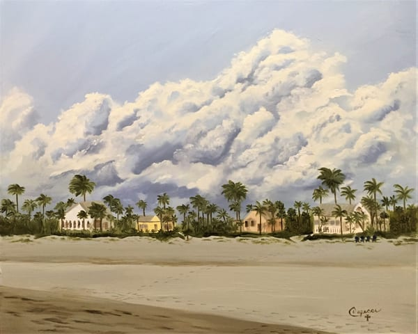 Beach Houses On The Gulf Art | Mid-AtlanticArtists.com