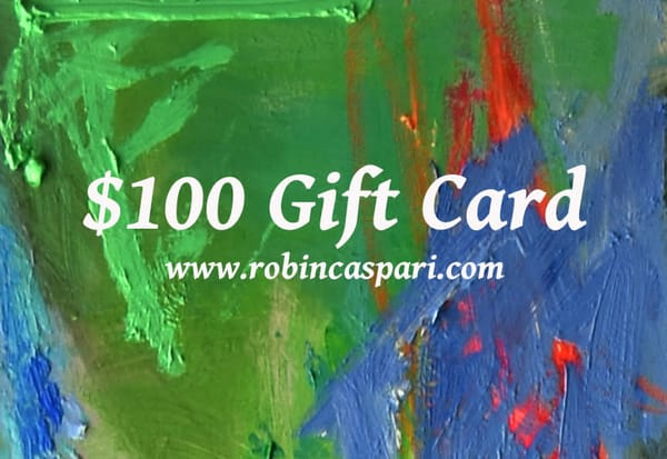 $100 Gift Card | robincaspari