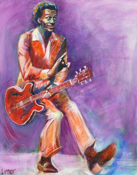 Chuck Berry Print Art | Limor Dekel Fine Art