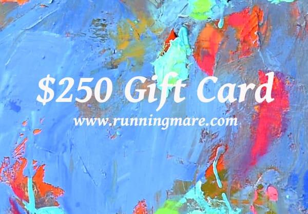 $250 Gift Card | robincaspari