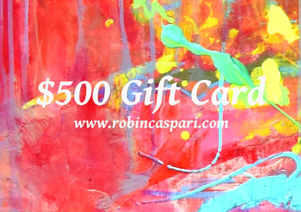 $500 Gift Card | robincaspari