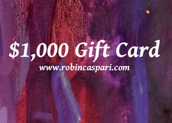 $1,000 Gift Card | robincaspari