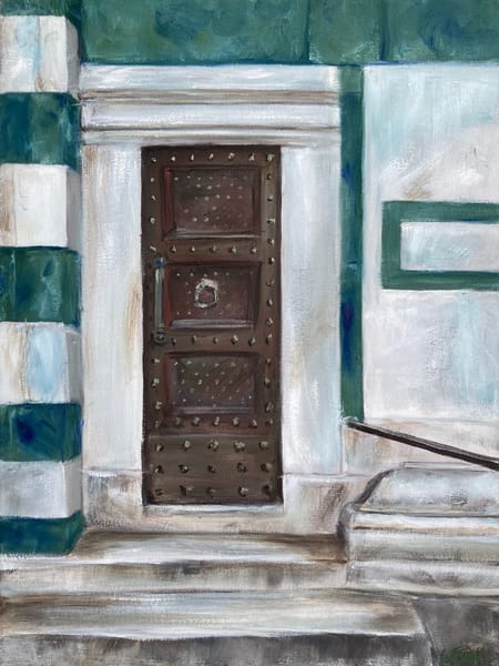 Italian Door Florence Cathedral Painting