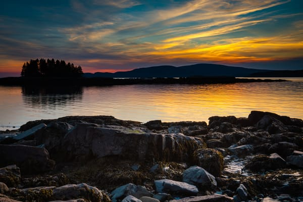 Grindstone Neck Sunset Photography Art | Monteux Gallery