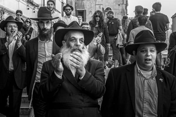 Rabbi Sing Along Photography Art | Harry John Kerker Photo Artist