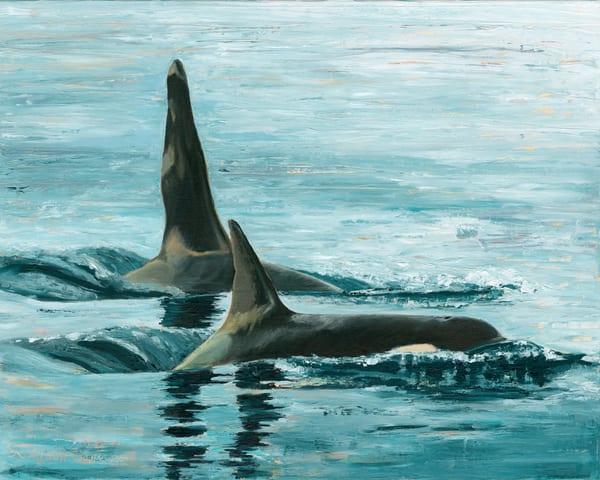 Sentinels Of The Salish Sea, J1 And J2 Art | Friday Harbor Atelier
