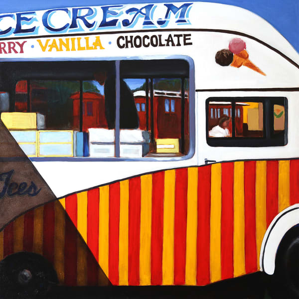 Ice Cream? Art | Courtney Miller Bellairs Artist