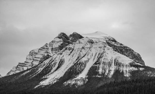 Banff Ice Mountain Photography Art   Austin Marvel