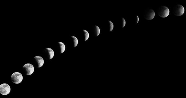 Monochrome Lunar Movement Photography Art   Austin Marvel