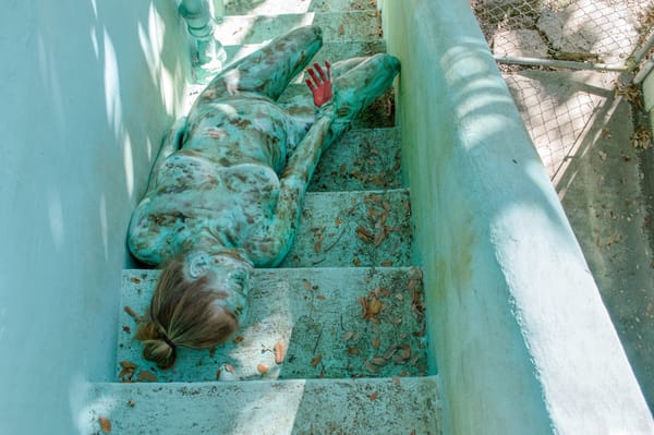2017  Turquoise Stairs  Florida Art | BODYPAINTOGRAPHY