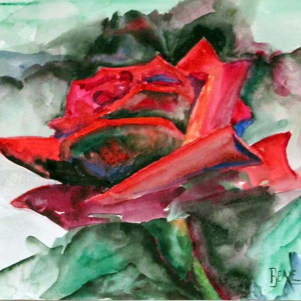 Rose 2 Art | David Beale