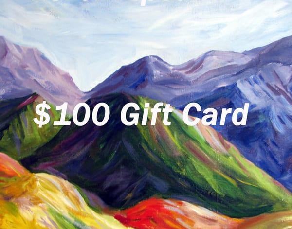 $100 Usd Gift Card | Linda Sacketti
