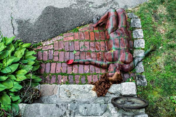 2014  Red Bricks  Massachusetts Art | BODYPAINTOGRAPHY