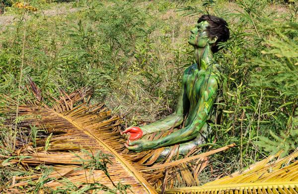 2014 Grass Palm Haiti Art | BODYPAINTOGRAPHY
