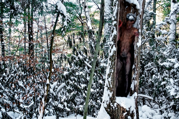 2014 Winter.Forest Massachussetts Art | BODYPAINTOGRAPHY