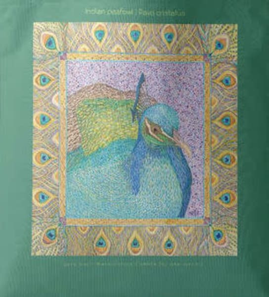 Indian Peafowl Tote | Birds by Boyd