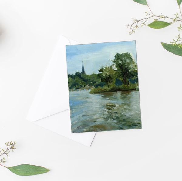 Maumee River: Summer Notecards | Michelle Arnold Paine Fine Art