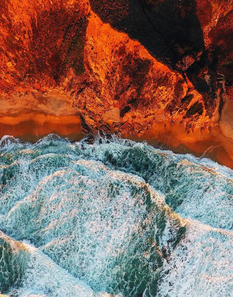 Mars Beach on California's Bay Area Coast
