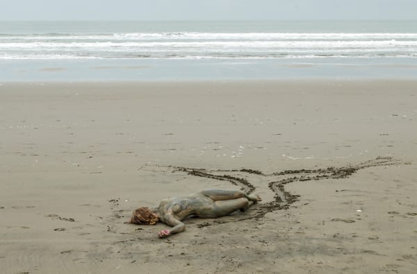 2015 Beached Mermaid California Art | BODYPAINTOGRAPHY