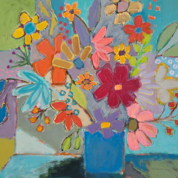 Betty Franks Art | Fine Art Paintings | Abstract Floral Art