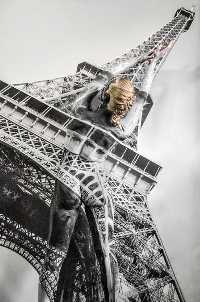 2015  Eiffel Tower  Florida Art | BODYPAINTOGRAPHY