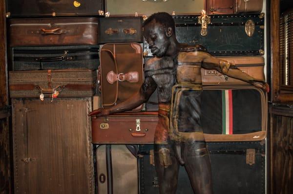 2016 Suitcases Florida Art | BODYPAINTOGRAPHY