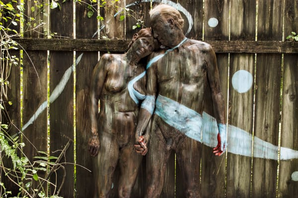 2016 Wood.Fence Florida Art | BODYPAINTOGRAPHY