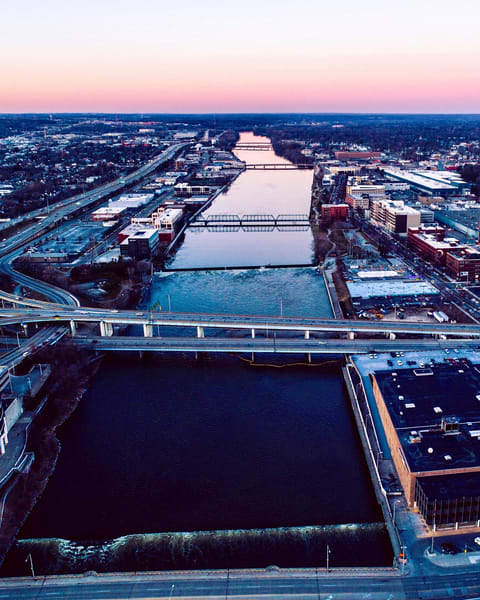 Grand River Grand Rapids Michigan