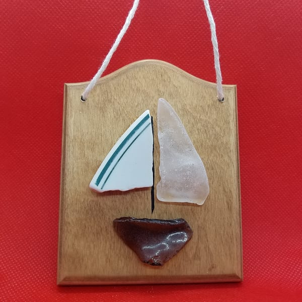 Sailboat Ornament | Creative Spirit Studios
