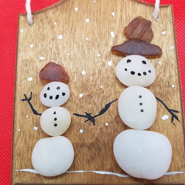 Snowman Buddies Ornament | Creative Spirit Studios