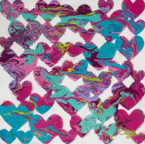 Hearts Attack Art | Courtney Einhorn