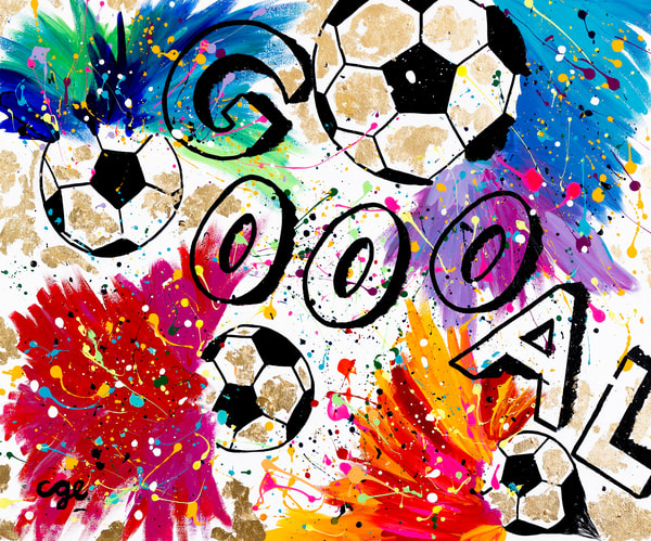 Goal  Art | Courtney Einhorn