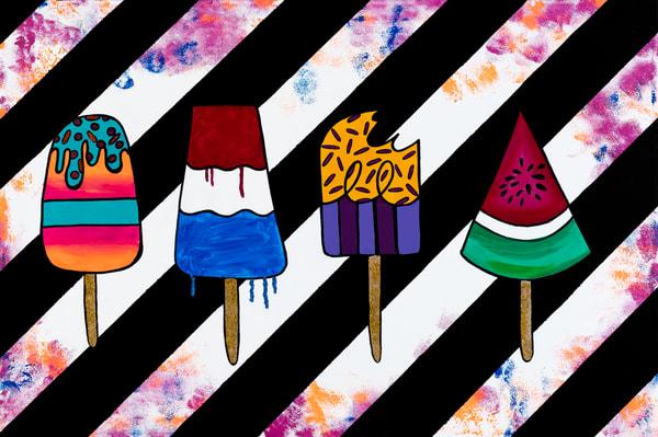 Pop Art Sicle Art | Courtney Einhorn