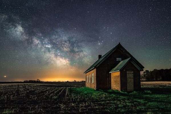 The Old School House Photography Art | Trevor Pottelberg Photography