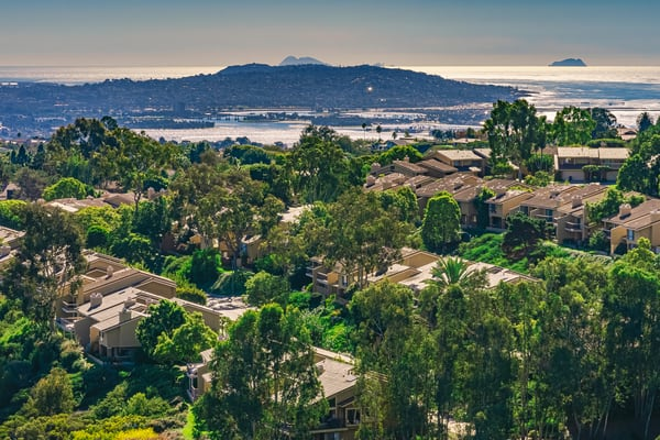 Mount Soledad, La Jolla View Fine Art Print by McClean Photography