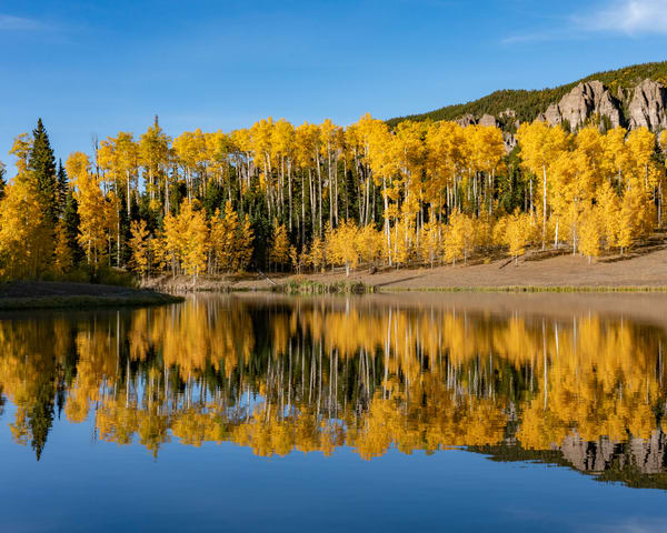 Fall On The Lake Photography Art   Alex Nueschaefer Photography