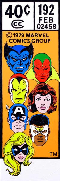 Avengers #192 Art | Todd Monk Art