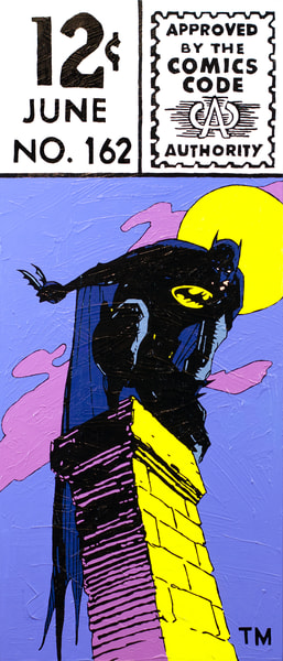 Gotham Knight Print Art   Todd Monk Art
