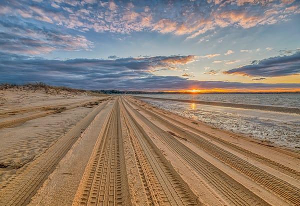 Cape Poge Sunset Trail Art | Michael Blanchard Inspirational Photography - Crossroads Gallery