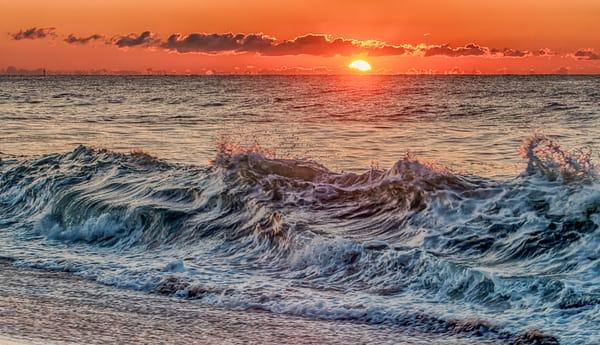 South Beach Sunrise Waves Art | Michael Blanchard Inspirational Photography - Crossroads Gallery