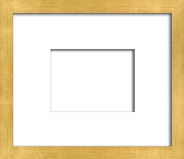 "C 5   7/8"""" Contemporary Gold Leaf Frame | Digital Arts Studio"