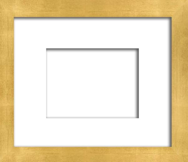 "C 8   1 1/8"" Contemporary Gold Leaf Frame | Digital Arts Studio"