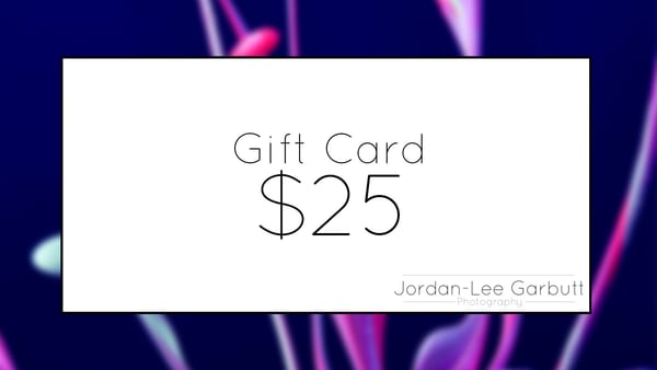 $25 Gift Card | Jordan-Lee Garbutt