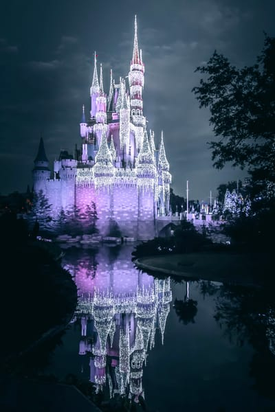 Cinderella Castle Dream Lights 3 Photography Art | William Drew Photography