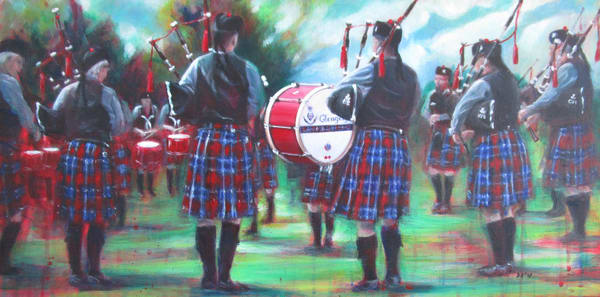 glengarry pipe band,