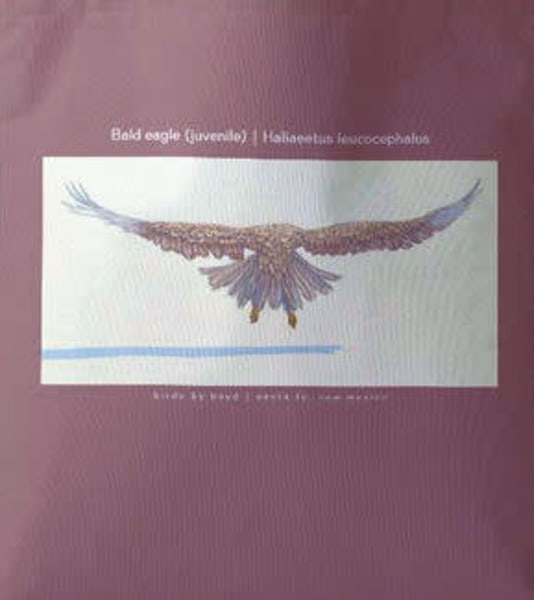 Juvenile Bald Eagle Tote | Birds by Boyd