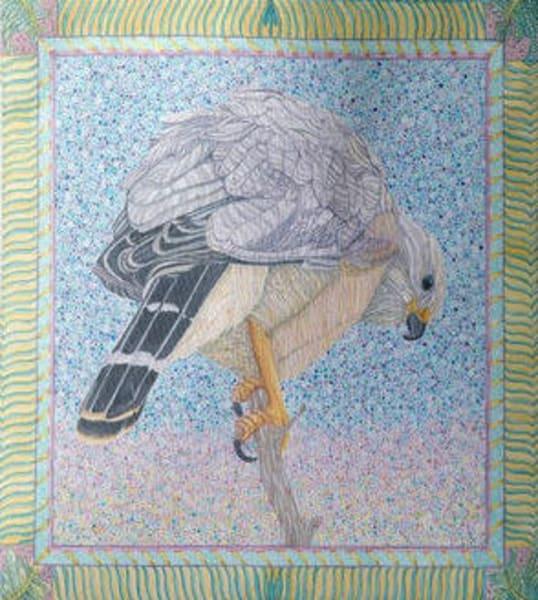 Gray Hawk Tote | Birds by Boyd
