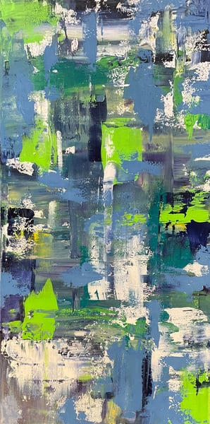 Snap Of Lime (Original) Art | Jen Sterling LLC