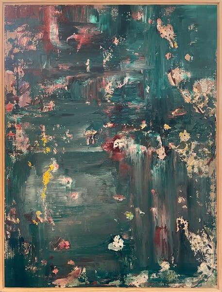 Playing With Monet (Original) Art | Jen Sterling LLC
