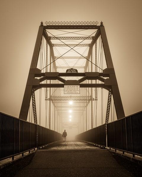 Myself Away - Historic Folsom Truss Bridge